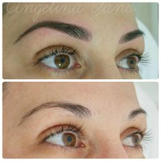 Pmu hairstroke eyebrows