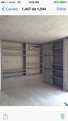 Sala Estar casa A-B My Works, Lockers, Locker Storage, Cabinet, Closet, Furniture, Home Decor, Houses, Clothes Stand