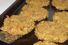 Zucchini Patties (Freezer)
