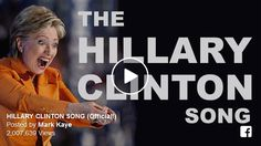 This cheerful little ditty will PISS HILLARY OFF! Enjoy! This song pretty much covers it all! There are a LOT of benefits to following his advice! Who knew?   The guy who wrote is risking his life to give this to you. The least you can do is watch and share!