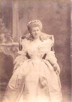 Countess Friedrich Szapáry von Muraszombath, Széchysziget und Szapár (1878-1918) nee Her Serene Highness Princess Maria Hedwig of Windisch-Grätz. This lady is the grandmother of HRH Princess Michael of Kent.