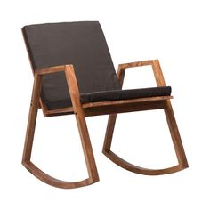Narran Rocking Chair in Light Gray - Dot & Bo Modern Furniture, Home Furniture, Furniture Design, Modern Chairs, Magazine Deco, Take A Seat, Dot And Bo, Mid Century Design, Chair Design