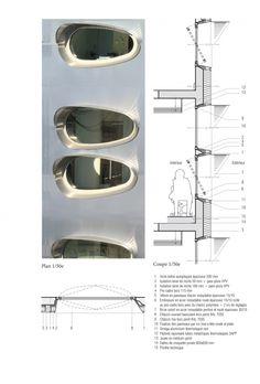 Window Detail.  Quai Ouest – Riverbanks Of The Meurthe / Anne Démians