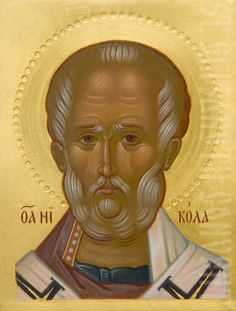 shoulder-long icon of st nicholas the wonderworker decorated with chiseling on gesso Church History, Black History Facts, Saint Nicholas, Religious Icons, Orthodox Icons, Semi Precious Gemstones, Pagan, Saints, Shoulder Length