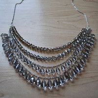 Stunning Silver DIY Necklace