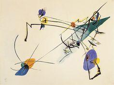 Wassily Kandinsky, Einfach (Simple), 1916.