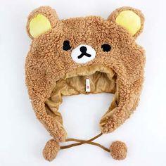 Rilakkuma Furry Hat