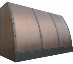 Barrel Copper Range Hood