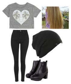 """Black and Grey"" by lliilyy on Polyvore"