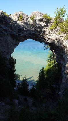 Arch Rock auf Mackinac Island