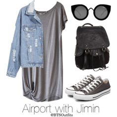 Airport with Jimin