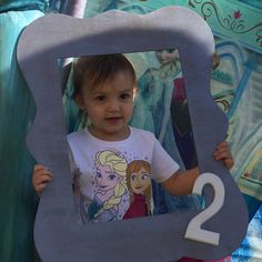 Isabella is 2 #two #birthday #babygirl #beautiful #frozen #party #birthdayparty