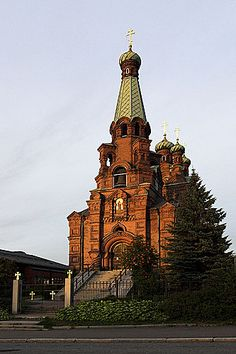 Tampere Orthodox Church #Finland #Church
