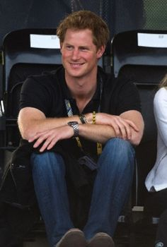 Prince Harry during day one of the Invictus Games 2014 in London.