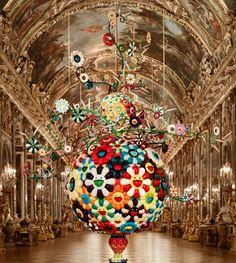 Takasi Murakami at Versailles