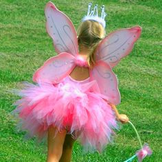 Pink Pixie Princess Tutu Costume from PoshTots