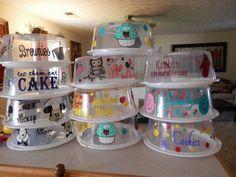 Cake carrier Vinyl