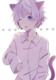 Images of neko boy anime - Anime Boys, Anime Cat Boy, Cute Anime Cat, Cute Anime Guys, Awesome Anime, Neko Boy, Anime Neko, Anime Art, Chat D'anime