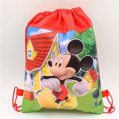 Type: Event & Party Supplies Occasion: Birthday Party Material: Non-woven Fabrics Model Number: JBS23 Event & Party Item Type: Gift Bag Material : Non-Woven Fabric Theme: pokemon\luna\minnie\mickey\el