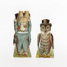86.7698: owl | paper doll | Paper Dolls | Dolls | National Museum of Play Online Collections | The Strong