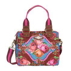 Deze mooie en vrolijke Pip Studio handtas vind je nu met 39% korting via Aldoor! #mode #dames #bloemen #tas #accessoires #women #fashion #accessories #floral #bag #sale