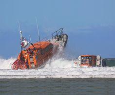Shannon Class RNLB 13-01 Jock and Annie Slater RNLI Pool Dorset