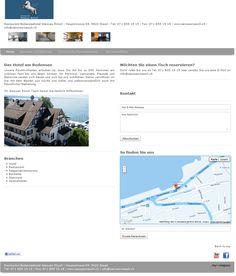 Restaurant Bodenseehotel Weisses Rössli, Seegartenrestaurant, Hotel