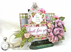 Hug in a Cup Tea Bag Holder - Kathy by Design