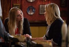 'EastEnders' (New!) Spoilers: Roxy and Ronnie Mitchell's Shockers revealed   EastEnders stars Ronnie and Roxy Mitchell have filmed some shocking scenes set to rock Albert Square on New Year's Day.  New spoilers reveal that The siblings - played by Samantha Womack and Rita Simons - are set to leave the BBC soap as viewers witness the end of an era and it's not going to make for easy viewing.  What's your thoughts on EastEnders: Ronnie and Roxy Mitchell's shock exit storyline revealed?  Also…