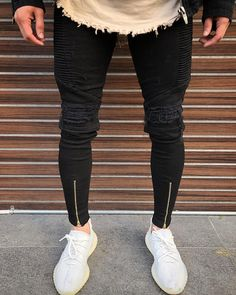 restock again 🏴 Outfits Hombre, Dope Outfits, Trendy Outfits, Fashion Outfits, Men's Fashion, Mens Fashion Wear, Black Denim Jeans, Mens Fall, Casual Street Style