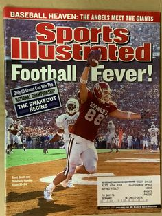 Semi Pro Football, Ou Football, Football Program, College Football, Oklahoma Sooners Football, Oklahoma State University, Humble Texas, Sports Illustrated Covers, Boomer Sooner