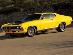 Ford Torino GT - Went on our honeymoon in this 1970 Torino, it was yellow and covered with white shoe polish!