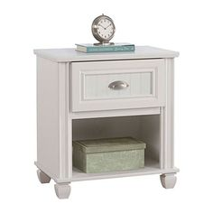Ameriwood™ Federal White Night Stand at Big Lots.
