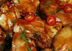 Alitas de pollo con miel y limón Great Chicken Recipes, Turkey Recipes, Mexican Food Recipes, Ethnic Recipes, 20 Min, Tandoori Chicken, I Foods, Chicken Wings, Good Food