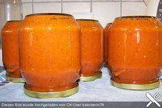 Chefkoch.de Rezept: Tomatensoße auf Vorrat                                                                                                                                                      Mehr