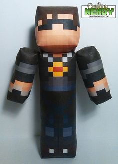 Mention ANGLSWNGS.....Plush Minecraft inspired  SkyDoesMinecraft Toy by CraftingNerdy, $17.99