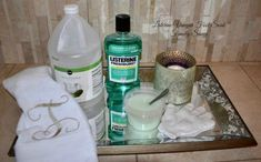 Curious if the Listerine vingar foot soak for soft, smooth feet is help or hype? Read on to hear from a dermatologist (and myriad readers who've tried it). care listerine Listerine Vinegar Foot Soak For Soft, Smooth Feet? Homemade Foot Soaks, Diy Foot Soak, Homemade Skin Care, Apple Cider Vinegar Cellulite, Foot Soak Vinegar, Epsom Salt Foot Soak, Listerine Foot Soak, Foot Soak Recipe, Smooth Feet