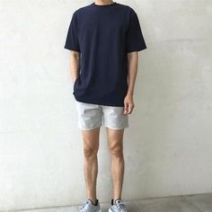streetwear fashion Vintage Outfits Men Ca - fashion Summer Outfits Men, Stylish Mens Outfits, Casual Outfits, Men Casual, Korean Fashion Men, Trendy Fashion, Mens Fashion, Style Fashion, Stil Inspiration