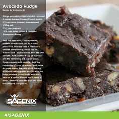 WHO KNEW avocado could turn into such a delicious treat!