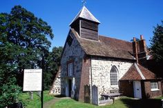 The exterior of St Georges Church, Esher, Surrey