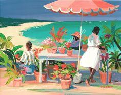 Fleuriste by artist Shari Erickson