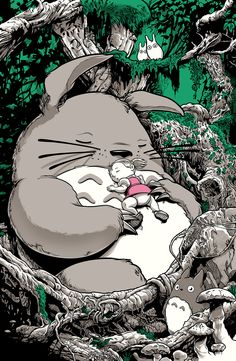 Otaku Obscura, the Joshua Budich Anime Art show, opens October 4 at Spoke Art in San Francisco. Featuring tributes to Akira, My Neighbor Totoro etc Anime Plus, Anime W, Art Anime, Anime Kunst, Anime Yugioh, Anime Pokemon, Hayao Miyazaki, Art Studio Ghibli, Anime Quotes Tumblr
