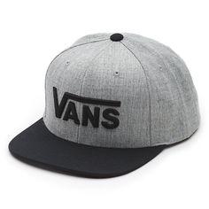 58c9cf76f9d Drop V Snapback Hat Vans Hats