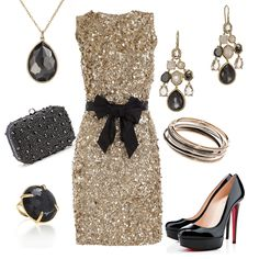Stuck on what to wear for New Year's Eve?!? Let us inspire you with this sparkly dress complimented by diamond bangles, IPPOLITA earrings, ring, and necklace, and an adorable beaded clutch from our sister store, @Marlee Benefield's by Tapper's