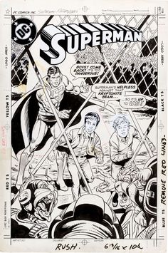Original art for the incredibly rare Superman Bradman comic worth at least $5,000.  The art is by Curt Swan but the likenesses of the Bradman boys was captured by Angelo Torres.    Click the pic for more information...