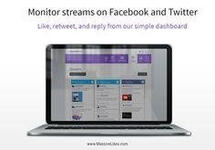 Social Media Marketing, Monitor, Facebook, Twitter, Free