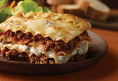 The only lasagna my kids like.  And it's quicker and less complicated than other recipes.  We love it!
