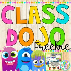 Included in this FREEBIE: - Class Dojo Rewards Poster - BLANK Class Dojo Rewards Poster so you can add your own choice of rewards - (this is NOT an editable file, if you would like to add your own rewards, just laminate the poster or put it in a clear