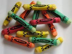 pretzel rod crayons