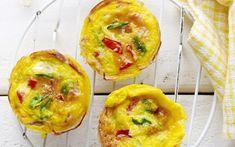 Mini Frittata, Types Of Pizza, Happy Foods, Kids Meals, Baked Potato, Eggs, Snacks, Breakfast, Ethnic Recipes